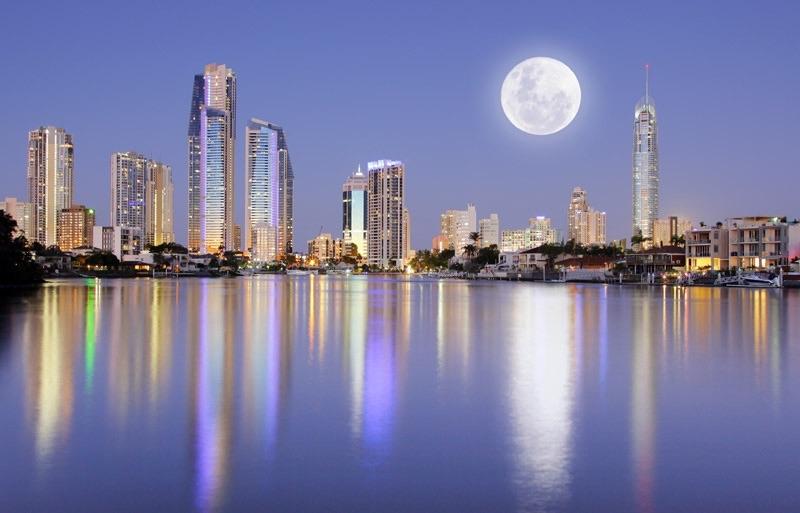 Scenic photo of the Gold Coast